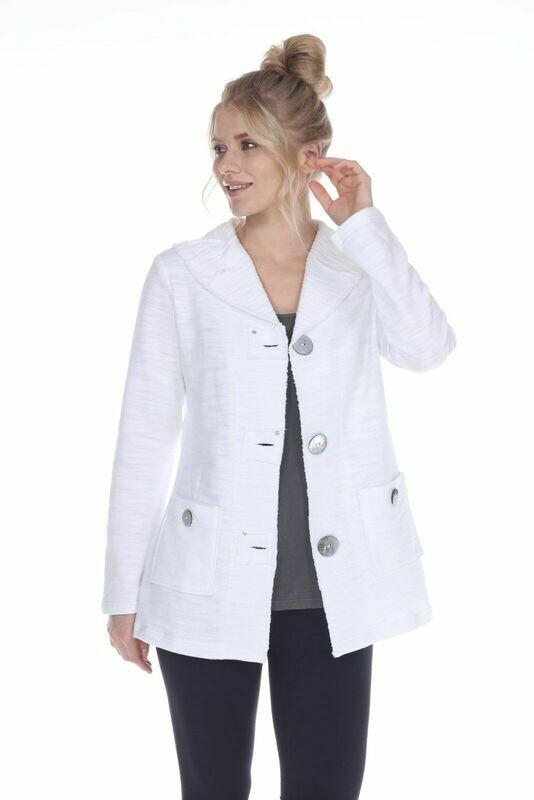 FINAL SALE Scenic White Jacket