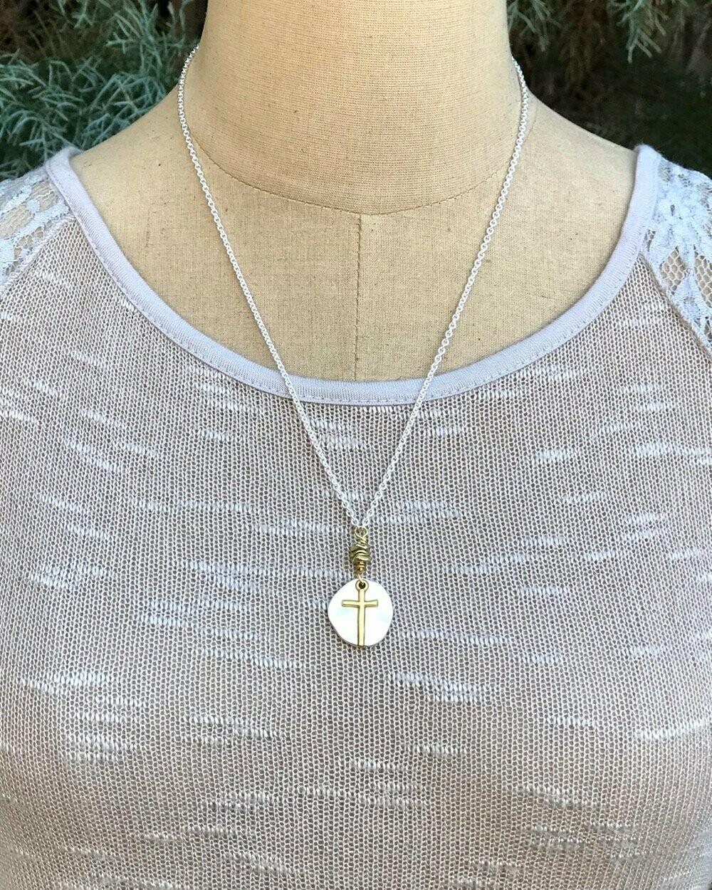Treasure Chest Cross Necklace