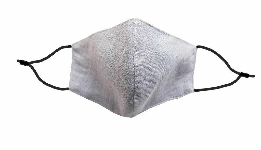 Grey Linen Mask w/ Filter