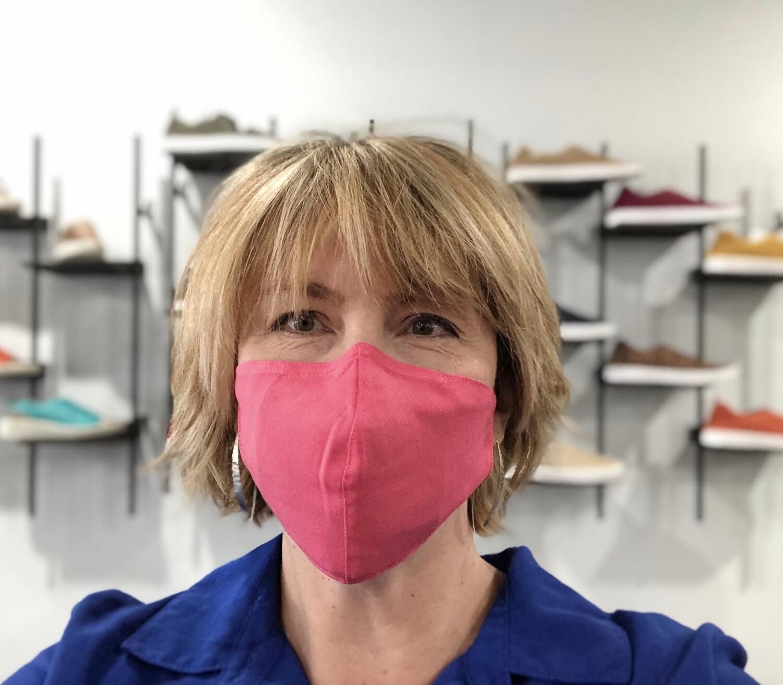 Pink Linen Mask w/ Filter