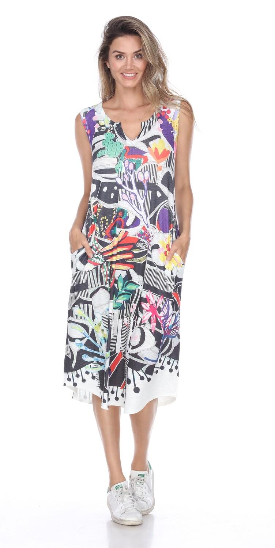 PRE-ORDER D2468K Creative Dress