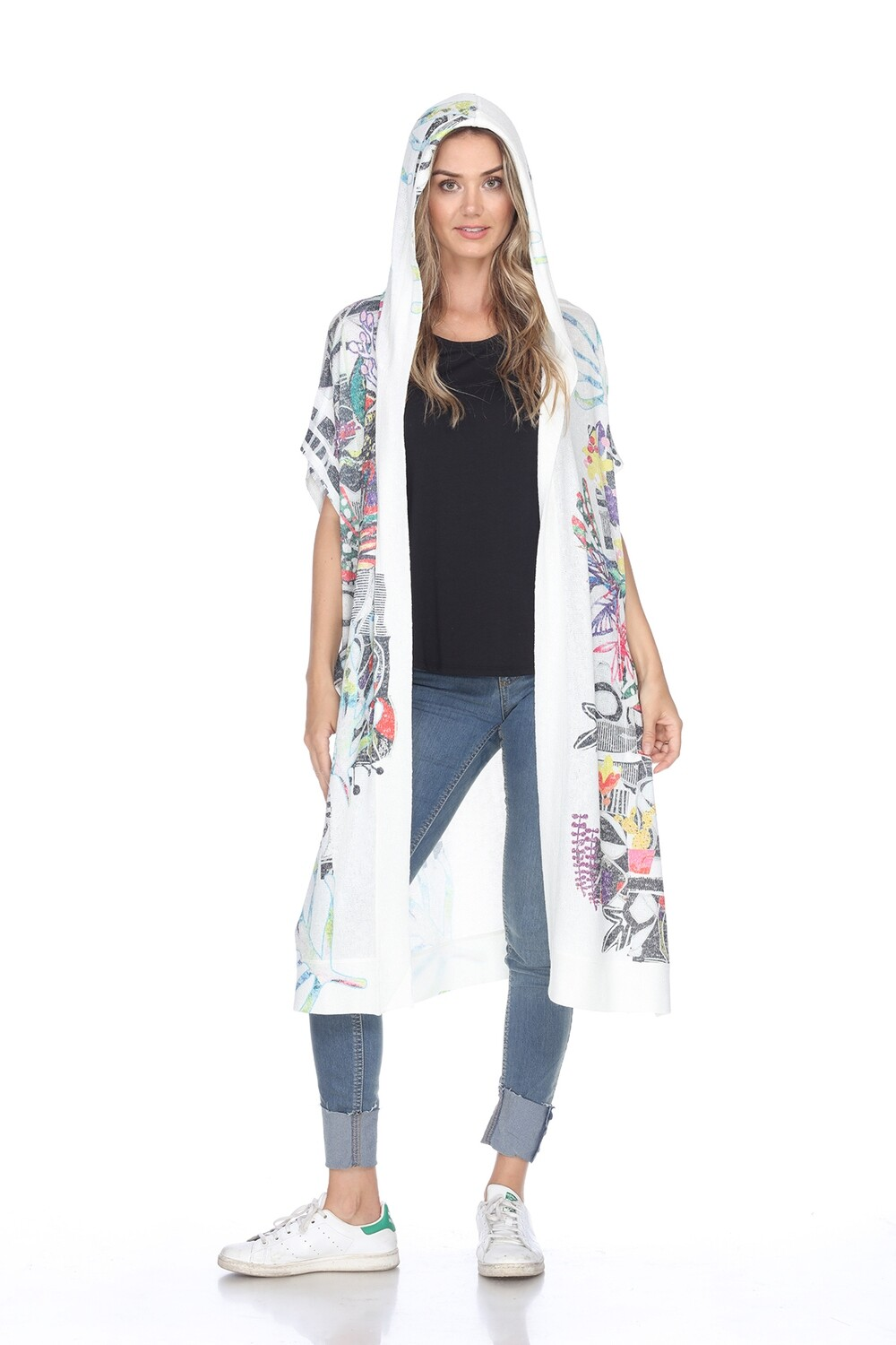 PRE-ORDER C097S Hooded Duster/Coverup