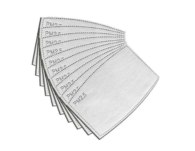PRE-ORDER Pack of 10 Replacement Filters for Linen Mask