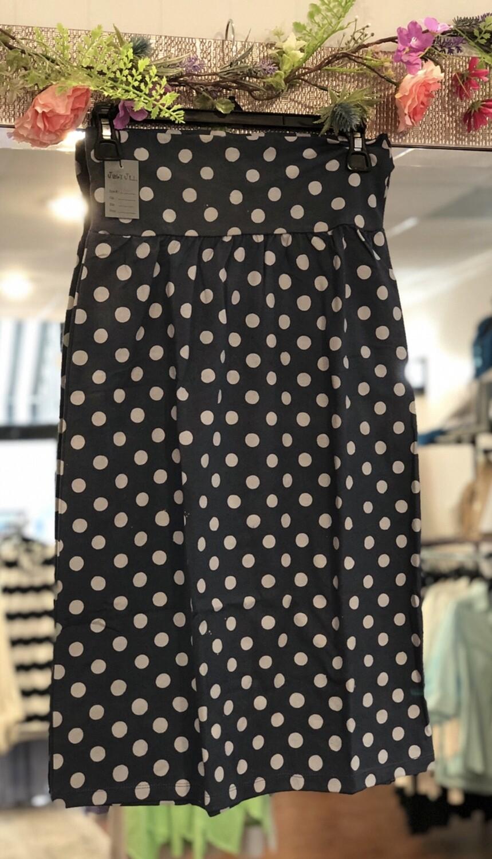 J718 Steel Polka Skirt