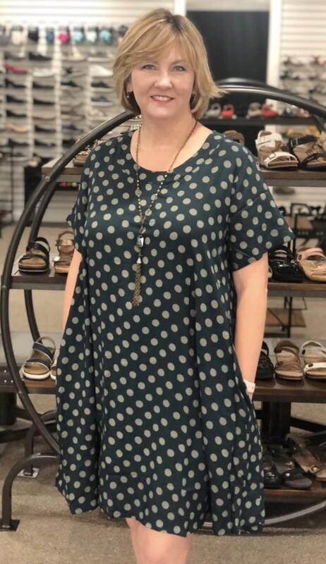 J3096 Dot Dress