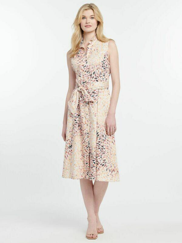 S201915 Morning Burst Shirt Dress