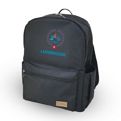 Rucksack Recycle-PET inkl. Logo Stickerei