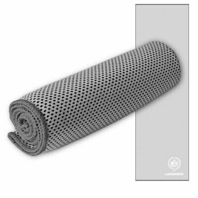 Sporttuch Cooling Towel bedruckt, 30cmx100cm, grau