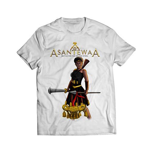 White Asantewaa Logo T-shirt