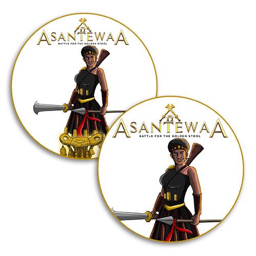 Asantewaa Stickers