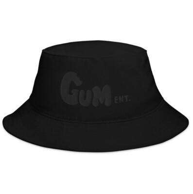 Black on Black GUM  Bucket Hat