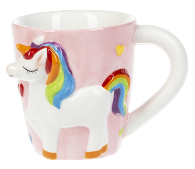 Unicorn Mug - Pink