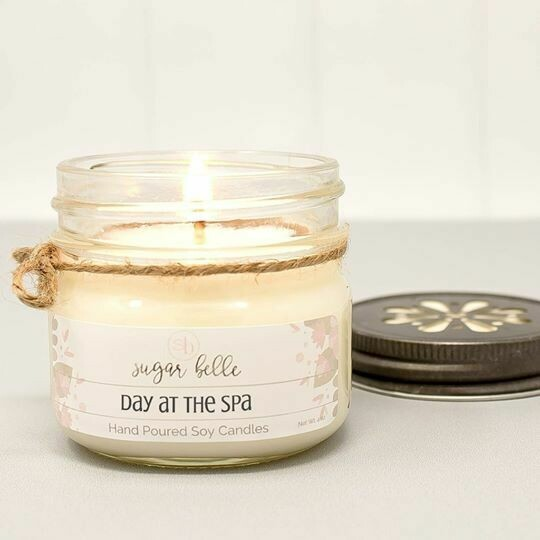 Soy Candle 4 oz. - Day At The Spa