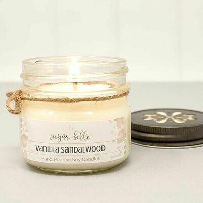 Soy Candle 4 oz. - Vanilla Sandalwood