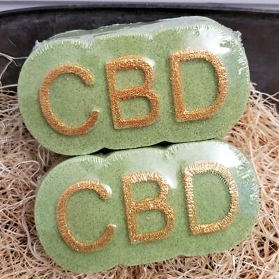 Bath Bomb CBD - Juicy Pear 70 mg