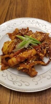 오징어 볶음 Stir-Fried Squid