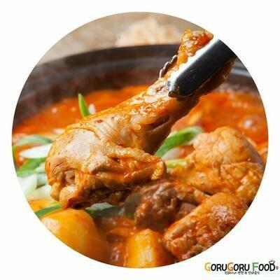 닭볶음탕 Korean Spicy Chicken Stew (spicy)