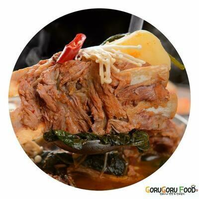 감자탕 Pork Back-Bone Stew (spicy)