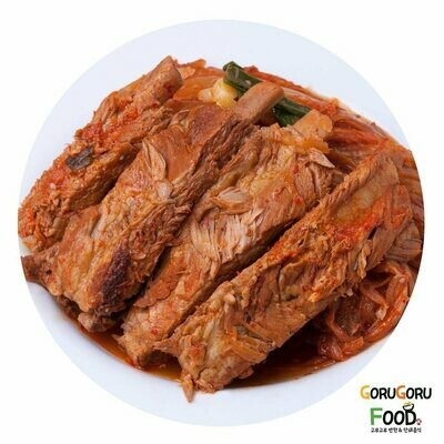 매콤 등갈비찜 Spicy Steamed Back Ribs