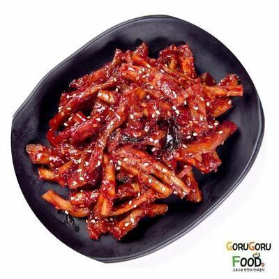 무말랭이 Dried Sliced of Daikon with Spicy Sauce