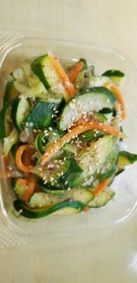 새우젓 호박 볶음 Stir fried Zucchini