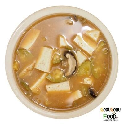 매콤호박 두부 된장찌게 Spicy Soybean Paste Soup
