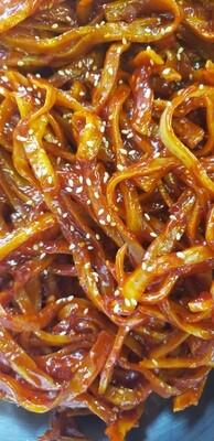 양념쥐어채 Seasoned Filefish