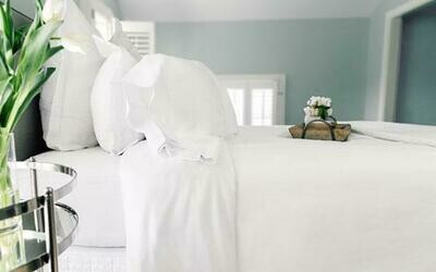Twin Set of Private Comphy Branded Sheets