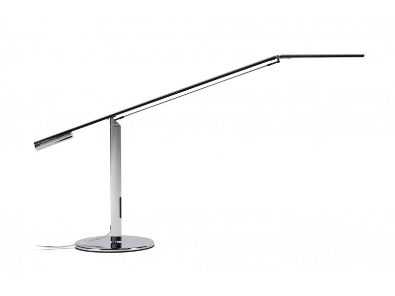 Equo Desk Lamp Silver Chrome