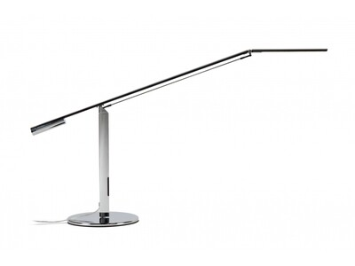 Equo Desk Lamp Silver Chrome