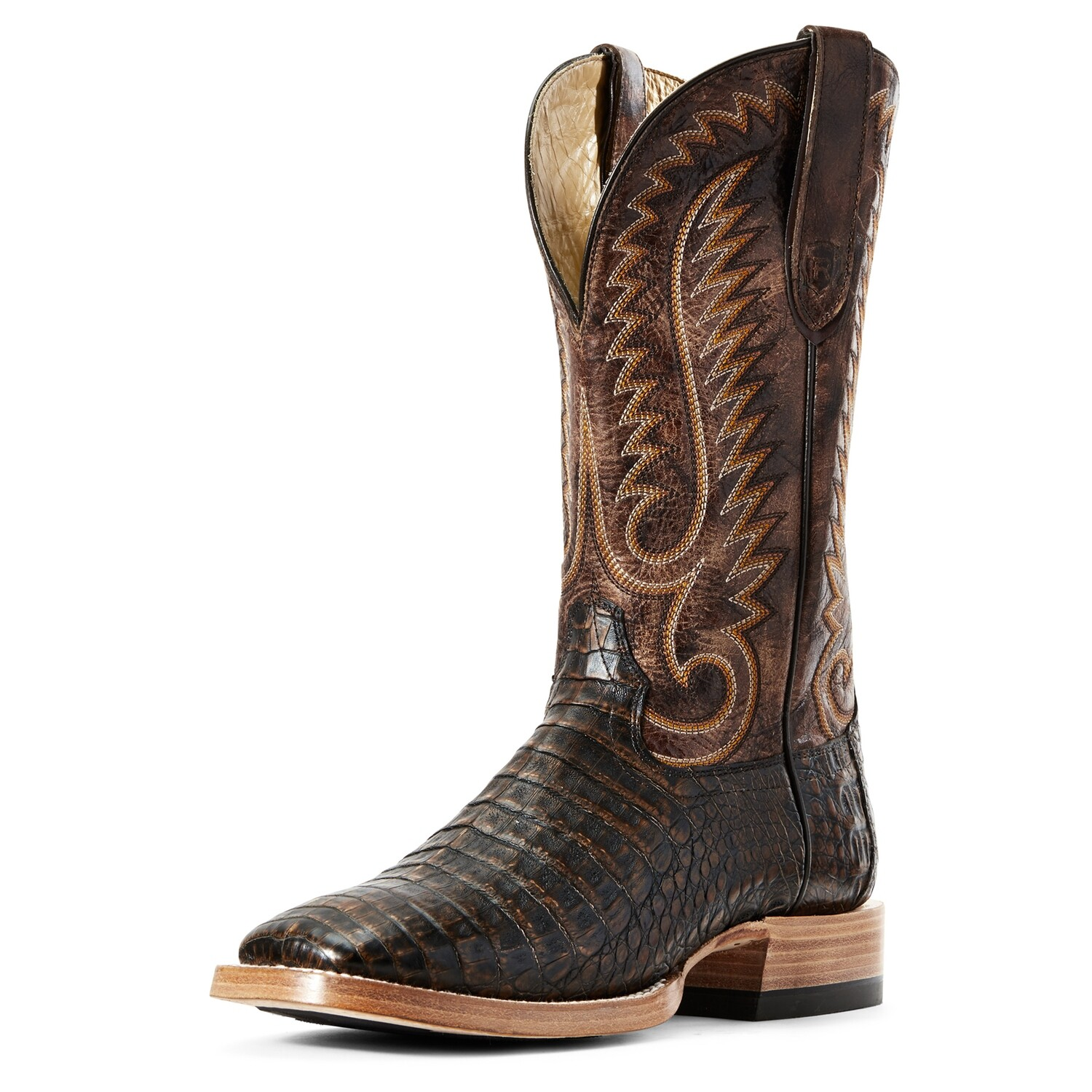 10029618 Ariat Relentless Pro Toffee Belly Caiman - ONLINE ONLY
