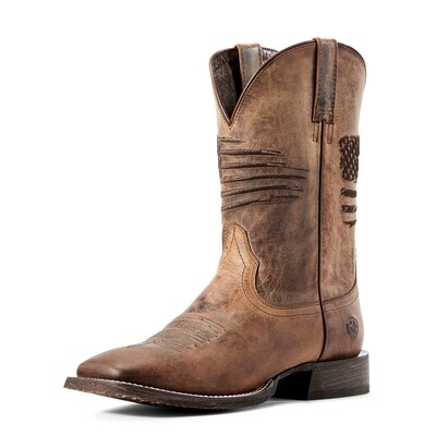 10029699 Ariat Curcuit Patriot Weathered Tan - ONLINE ONLY