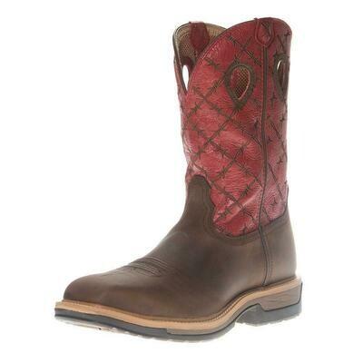 MLCA005 Men's Alloy Toe Lite Western Work Boot