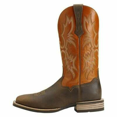 10014023 ARIAT MNS TOMBSTONE DISTRESSED BROWN SUNNYSIDE