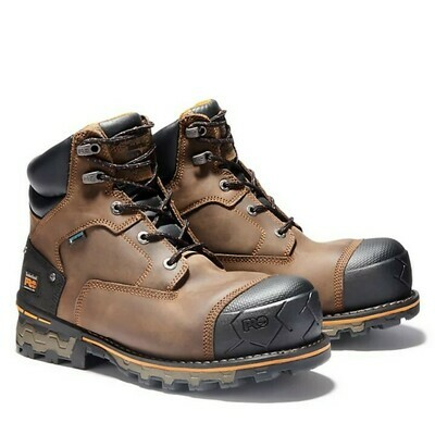 A127G Timberland Pro 6in Boondock WP Comp Toe