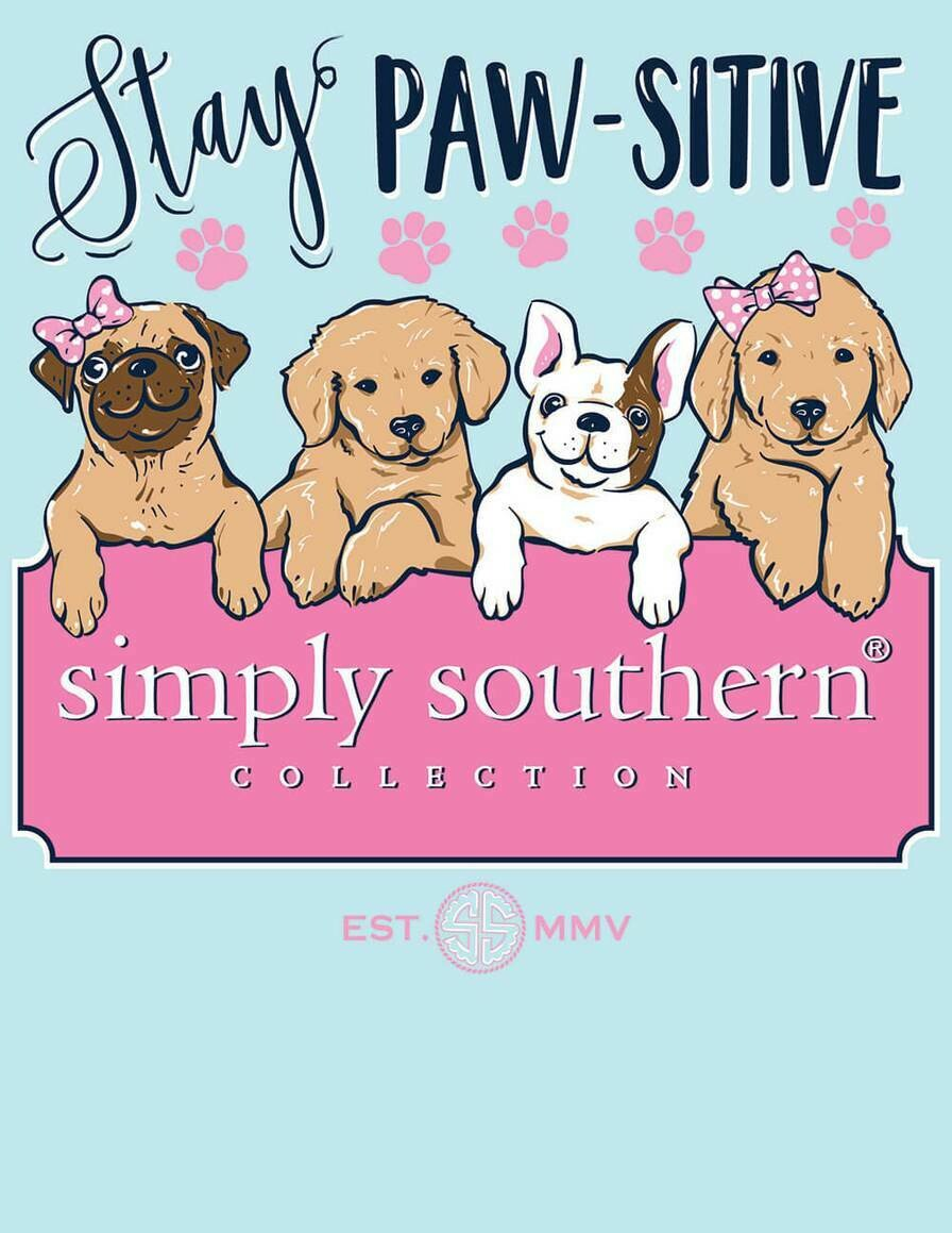 LS-PAWSITIVE-MARINE SIMPLY SOUTHERN