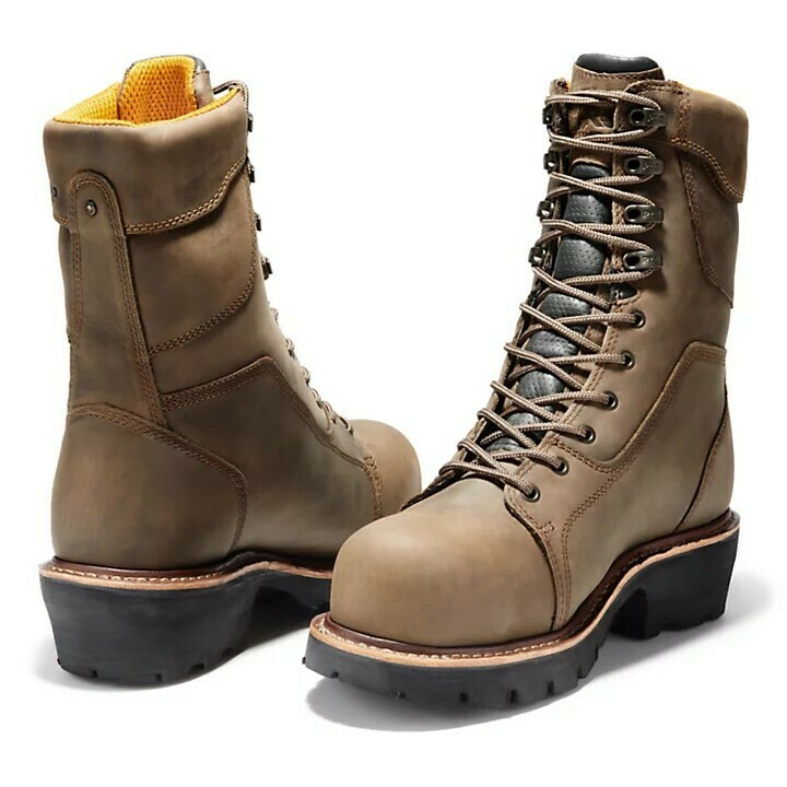 """TIMBERLAND PRO® RIP SAW 9"""" COMP TOE LOGGER BOOTS - ONLINE ONLY"""