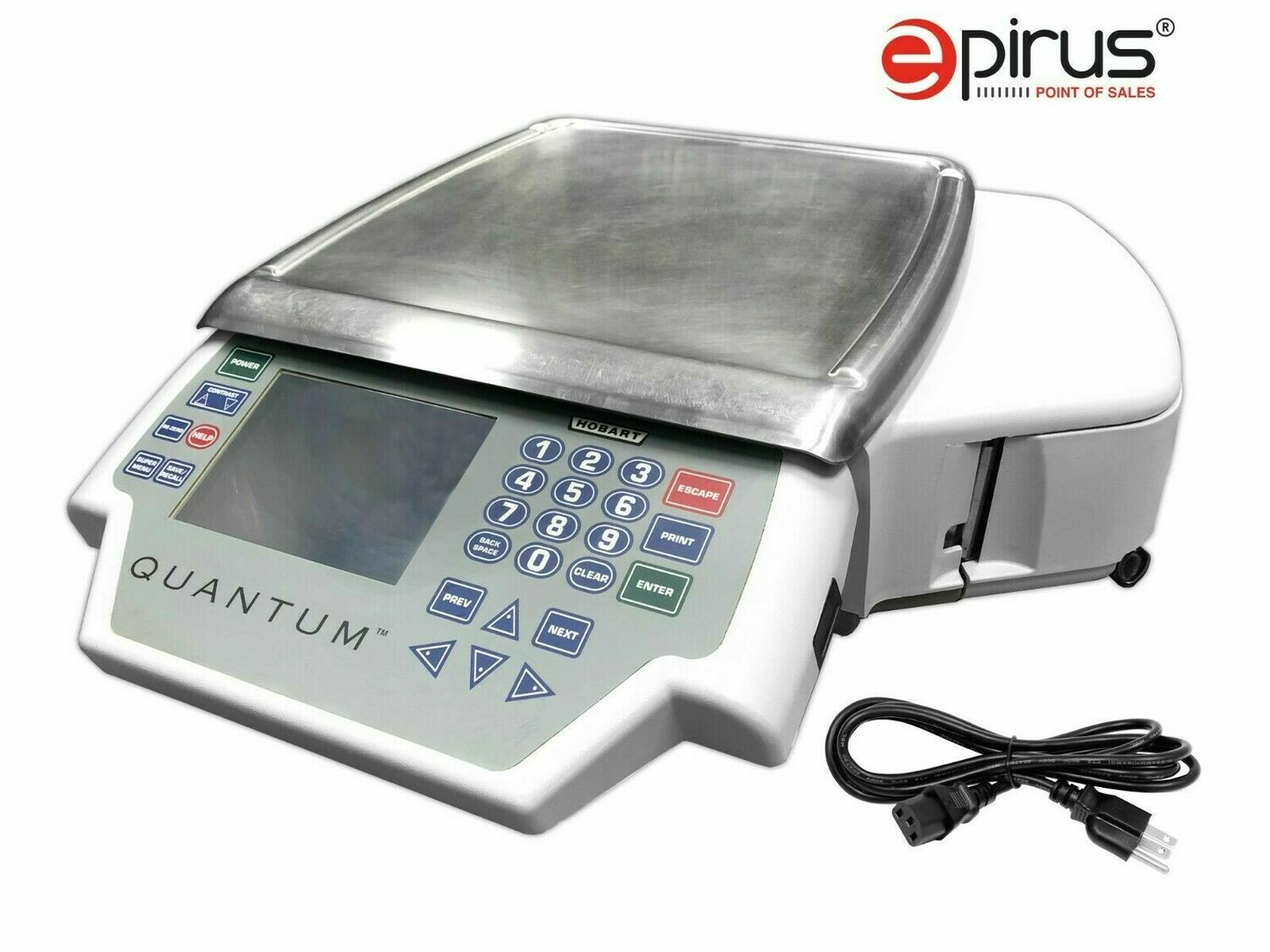 Hobart Quantum 29252-BJ  Deli Scale Printer Display (Grade A Refurb)