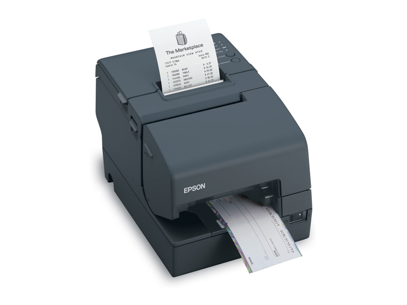 Epson TM-H6000IV Hybrid Multifunction Printer with MICR , USB Powered + Cable (Refurb Grade A)