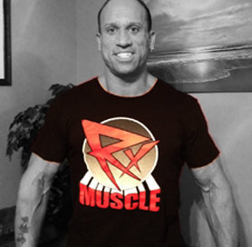 T-SHIRT: Rx Muscle Red Logo 3XL
