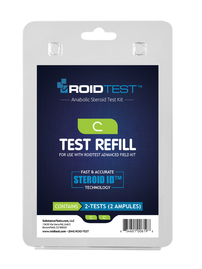 ROID Test C Refill - (2 Tests)
