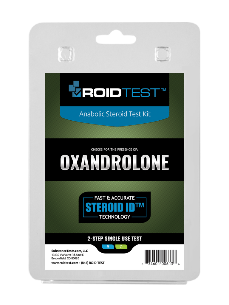 ROIDTEST Oxandrolone - (2 Tests)