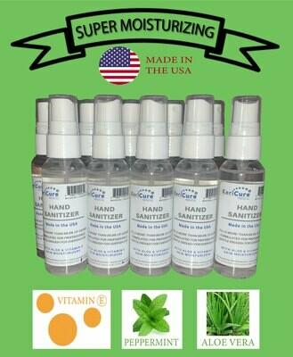 Moisturizing Hand Sanitizer, 10 Pack Peppermint
