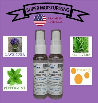 NEW! Lavender Mint Moisturizing Hand Sanitizer, 2 Pack