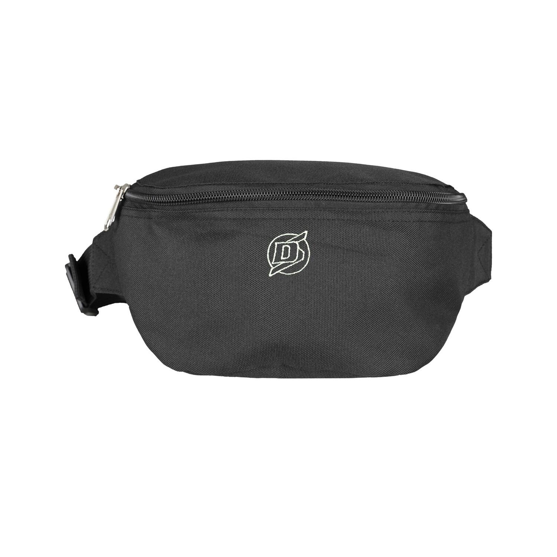 DS Black Hip Bag stitched