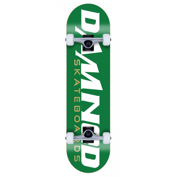 DS GREEN LOGO Deck MID Concave COMPLETE
