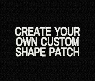 Create Your Own Custom Shape Patch