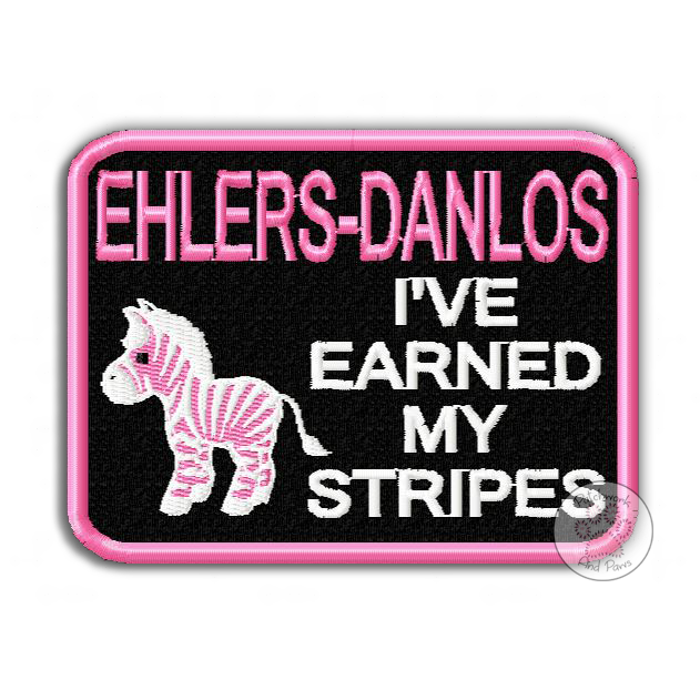 Ehler-Danlos Stripes