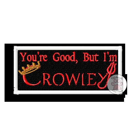 I'm Crowley