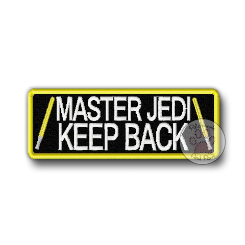Master Jedi. Keep Back